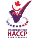Canadian Certified HACCP Professional Designation Logo